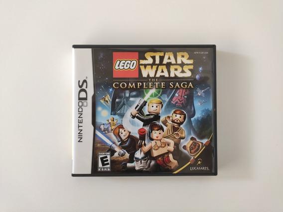 Lego Star Wars The Complete Saga Nintendo Ds Completo Usado