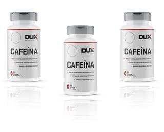 3x Cafeína 210mg Pote 90 Caps - Dux Nutrition