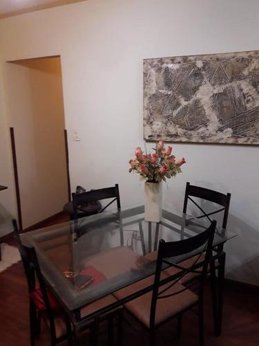 Apartamento Com 2 Dormitórios À Venda, 119 M² Por R$ 430.000 - Campo Grande - Santos/sp - Ap3835