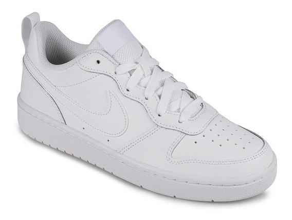 Tenis Nike Court Borough Low 2 Blanco Bq5448 100