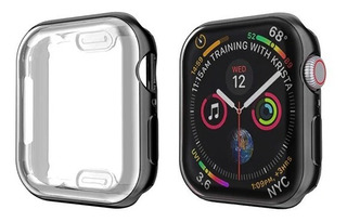 Case Bumper Silicone Cores Para Apple Watch 38/40mm 42/44mm