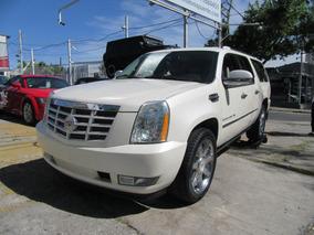 Cadillac Escalade 2009 Esv Piel Q/c 6.0 C At Blanco Perla