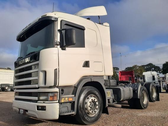 Scania R124/400 6x2 Trucado Único Dono