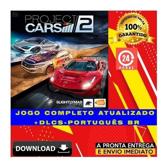 Project Cars 2 - Pc - Digital + Todas Dlcs + Brinde