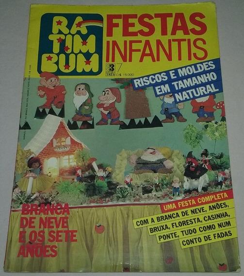 Festa Branca De Neve 7 Anões Ratimbum Moldes Tamanho Natural