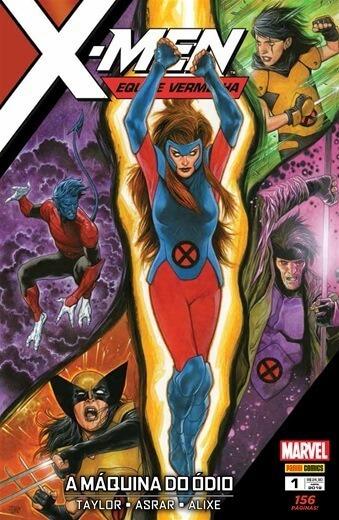 X-men Equipe Vermelhar Volume 1 Marvel Comics Panini Novo