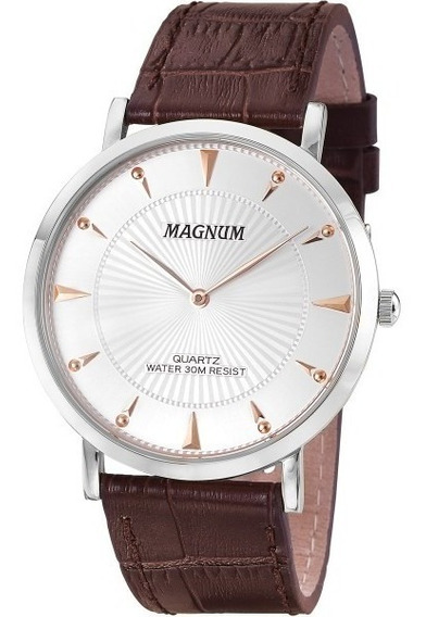 Relógio Magnum Slim Masculino Ma21900q