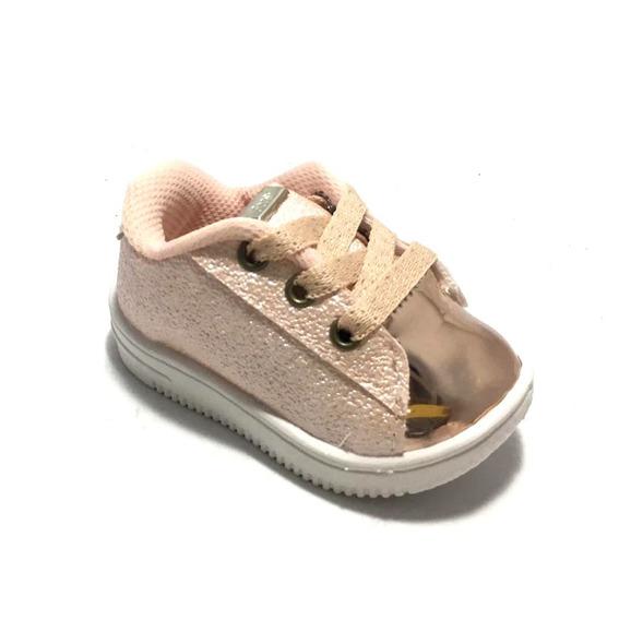Zapatillas De Niños Niñas Urbanas Simil Cuero (34/328)