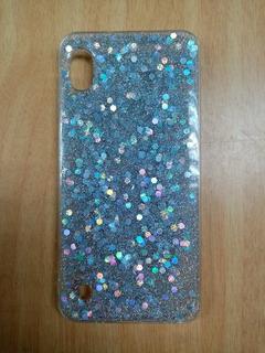 Forro Glitter Escarchado Para Samsung A10 / A20 / A30