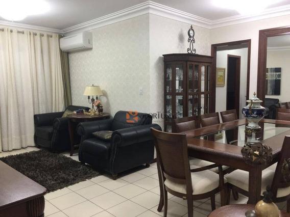 Apartamento Com 3 Dormitórios Sendo 1 Suíte - Condomínio Baia Da Sapri - Vila Seixas - Ribeirão Preto - Ap1160