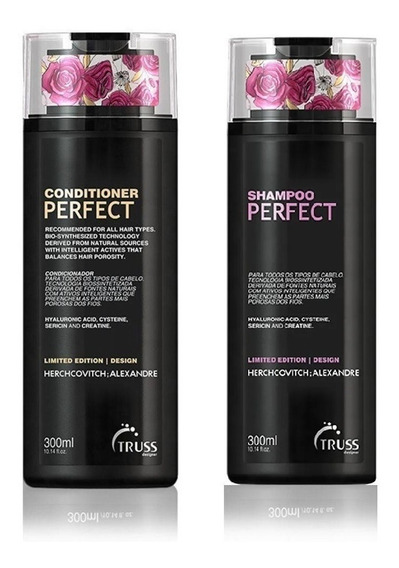Kit Shampoo + Cond. Perfect Truss Herchcovitch Alexandre