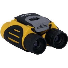 Binóculo Amarelo Vivitar Zoom 8x Lentes De 25mm Viv-av825