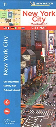 Mapa : Michelin New York City Manhattan Map 11 (maps/city...