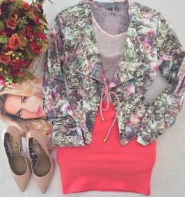 Casaqueto Floral Vanessa Lima Tam P