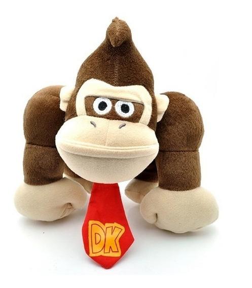 Pelucia King Kong 26 Cm Mario Bros Nintendo Chega 45 Dias