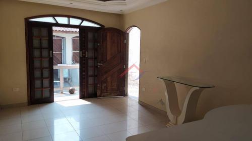 Imagem 1 de 11 de Sobrado Com 3 Dormitórios À Venda, 230 M² Por R$ 400.000,00 - Jardim São Gabriel - Mauá/sp - So0022