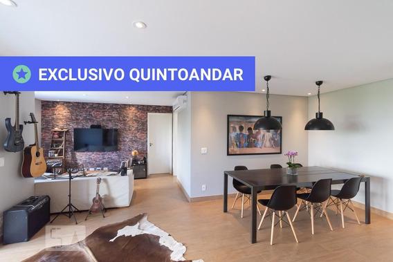 Apartamento No 2º Andar Mobiliado Com 2 Dormitórios E 2 Garagens - Id: 892968966 - 268966