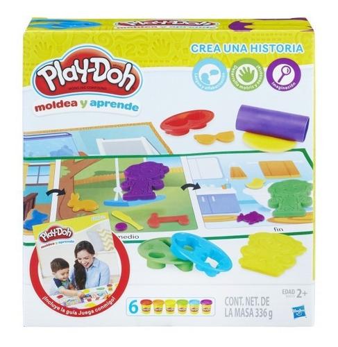 Play Doh Plastilina Colores De Hasbro Juega Moldea Didactico
