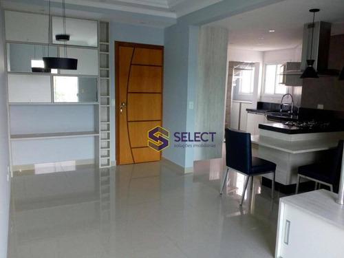 Imagem 1 de 20 de Cobertura Com 3 Dormitórios À Venda, 197 M² Por R$ 612.000,00 - Jardim Brasília - São Bernardo Do Campo/sp - Co0057