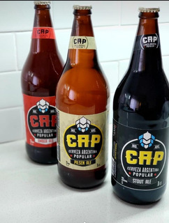 Cerveza Cap, Cerveza Popular, Cerveza Litro