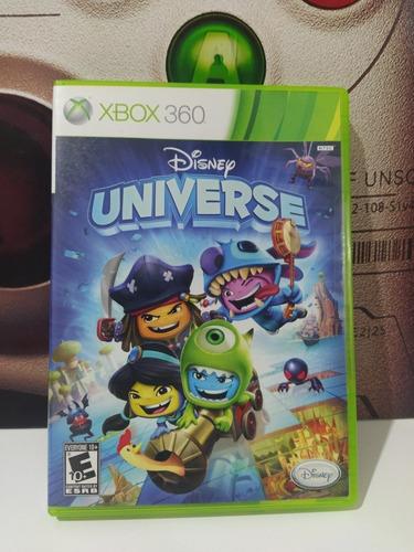 Disney Universe Xbox 360 Original Físico Usado