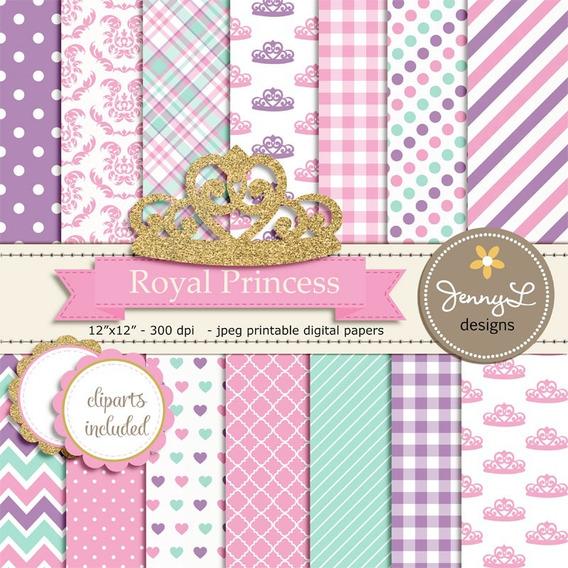 Corona Princesa + Fondos