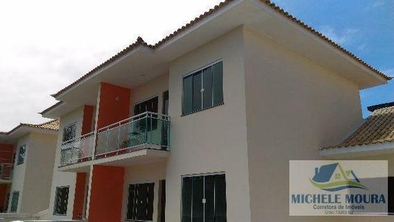 Casa Duplex/nova Para Venda Em Araruama, Parque Hotel, 3 Dormitórios, 2 Banheiros, 2 Vagas - 241