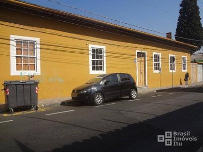 Casa Comercial À Venda, Centro, Itu - Ca0090. - Ca0090