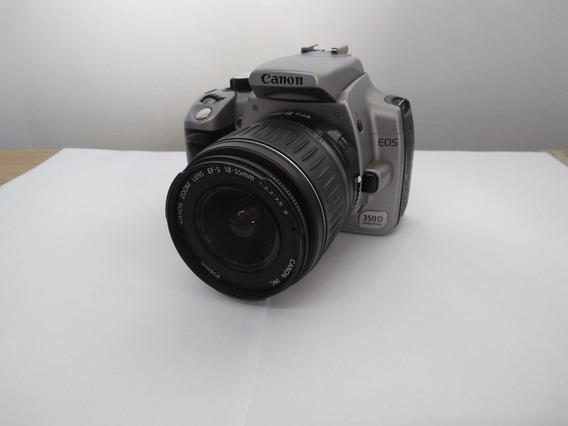 Câmera Canon 350d Digital + Lente Canon 18-55mm