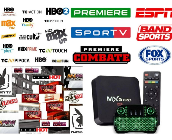 Conversor De Canais Digitais De Tv + Mini Teclado