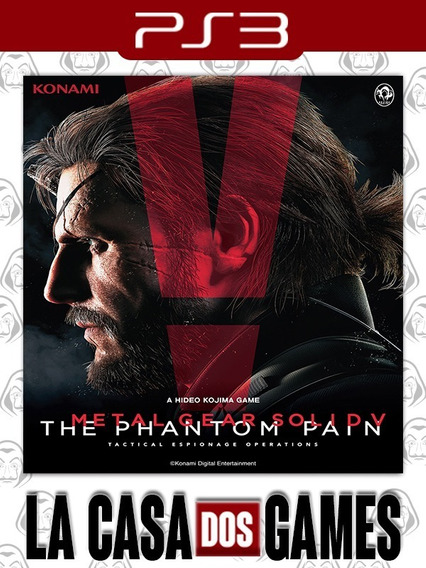 Metal Gear Solid V: The Phantom Pain - Psn Ps3 - Envio Agora
