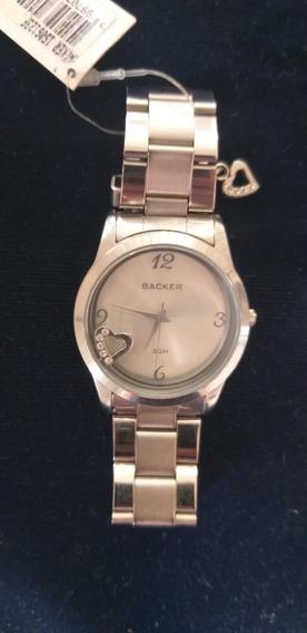 Relógio Backer Feminino 1506123f Original Barato