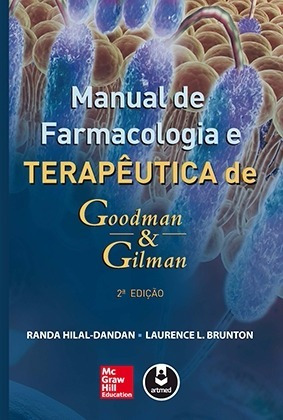 Livro Manual De Farmacologia E Terapêutica De Goodman & Gilm