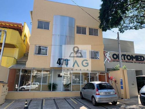 Sala Para Alugar, 150 M² Por R$ 3.600,00/mês - Grupo Residencial Do Iapc - Campinas/sp - Sa0021