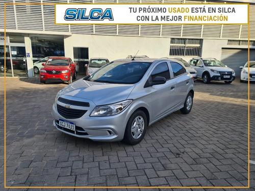 Chevrolet Onix Joy 2018 Gris Plata 5 Puertas