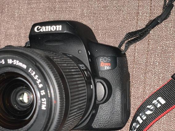 Canon Eos Rebel T6i Kit 18-55 Mm Stm 24 Mp