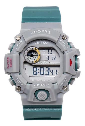 Relógio Digital Diray, A Prova D'água, 208l