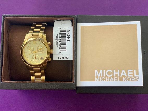 Reloj Michael Kors Original De Mujer (usado) 9.5 De 10