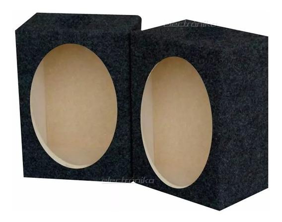 Caja Acustica (x2) Cerradas Para Parlante 6x9 Mas Graves