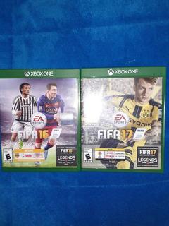 Fifa 17 Y Fifa 16 Xbox One, Fisicos