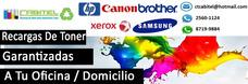 Toner Para Impresoras Laser Hp Samsung Brother Lexmark Xerox