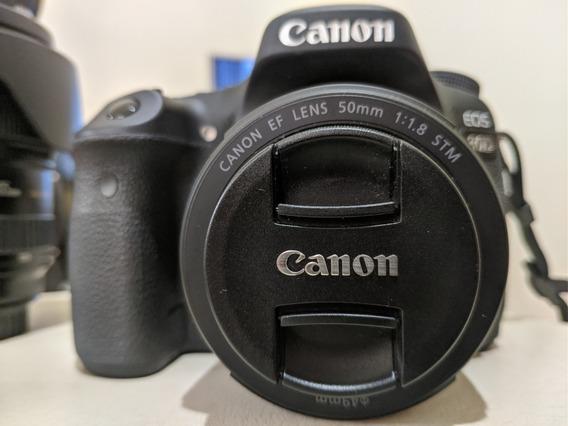 Dslr Canon 80d + Lente Canon 50mm F/1.8 Stm
