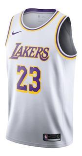 Camiseta Nike Los Angeles Lakers Lebron James Jersey Men