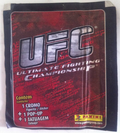 Lote 13 Pacotinhos Ufc- Ultimate Fighting Championship