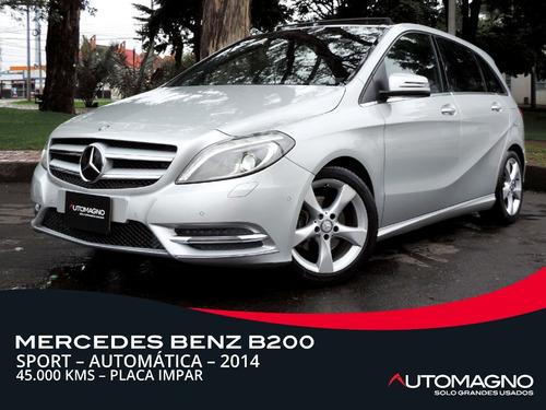 Mercedes Benz B200 Sport 1.6t At 2014