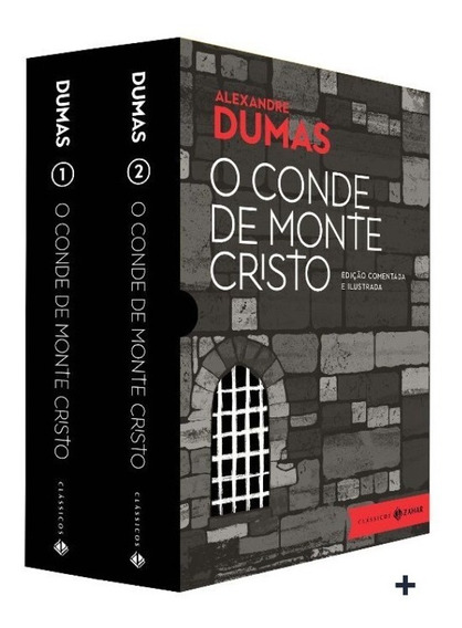 Livro Box O Conde De Monte Cristo (2.vol) Luxo Colecionador
