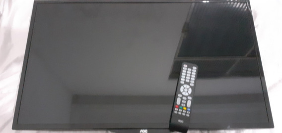 Tv Led Aoc 32 Hd Com Conversor Integrado