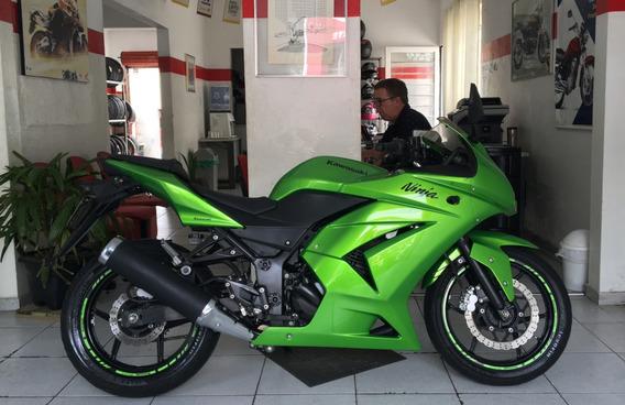 Kawasaki Ninja 250 Verde 2012