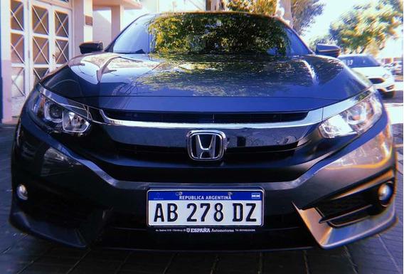 Honda Civic Ex-l 2.0 2017 Automático Full Con 44.000 Km.