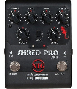 Pedal Nig Spk Shred Pro Kiko Loureiro - Pd0983